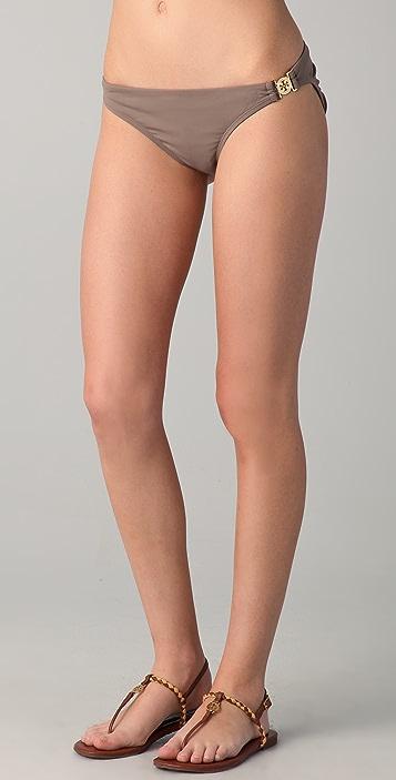 Tory Burch Logo Bikini Bottom