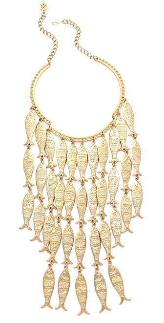 Tory burch fish necklace shopbop for Tory burch jewelry amazon