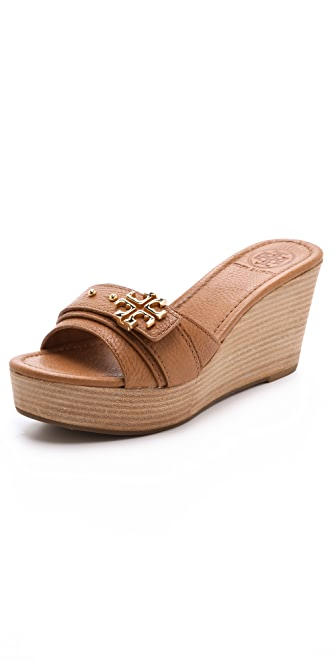 Tory Burch Elina Wedge Slides