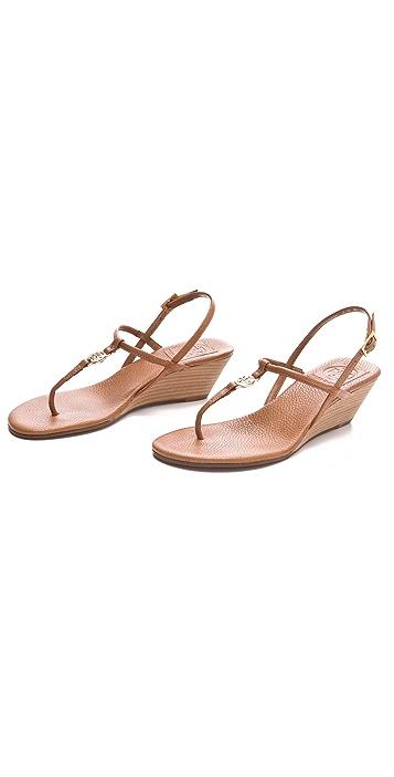 Tory Burch Emmy Wedge Sandals