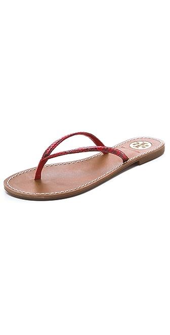 Tory Burch Abitha Flip Flops