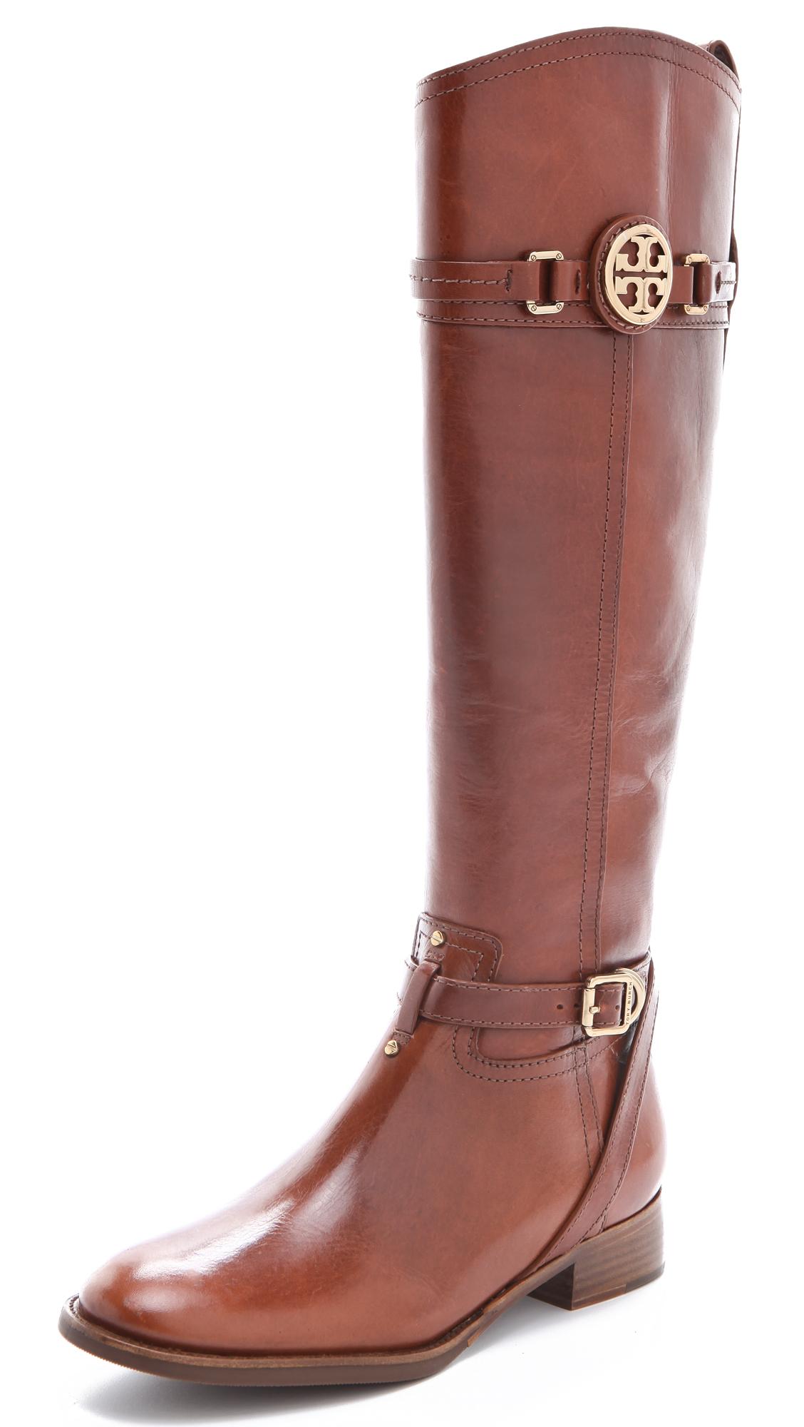 8e906495e1ce Tory Burch Calista Riding Boots