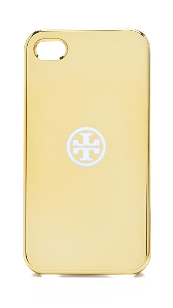 Tory Burch Metallic iPhone 4 Case