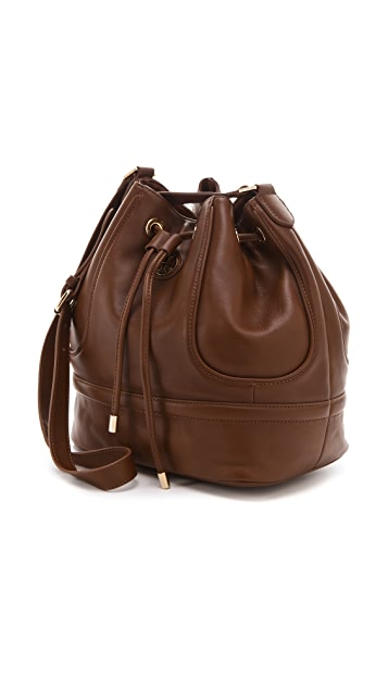 Tory Burch Daria Drawstring Bucket Bag