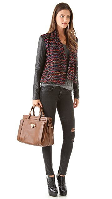Tory Burch Daria Top Handle Satchel