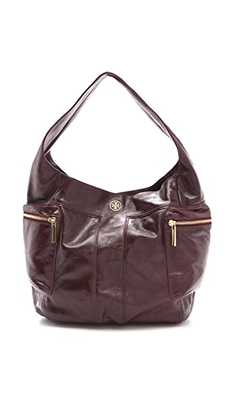 Tory Burch Vintage Moto Large Hobo