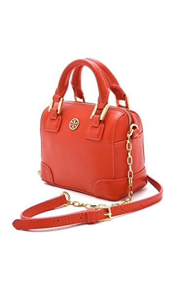 Tory Burch Robinson Shrunken Satchel