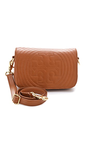 Tory Burch Stitched Logo Adjustable Mini Bag