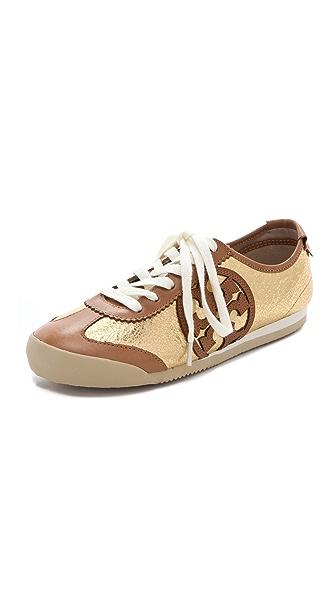 Tory Burch Murphey Metallic Sneakers