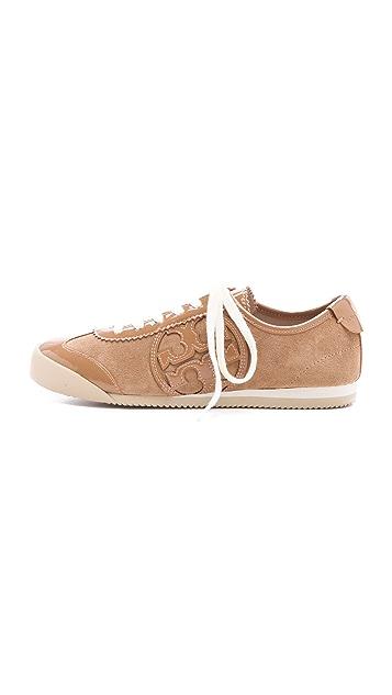 Tory Burch Murphey Two Tone Sneakers