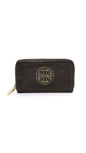Tory Burch Amanda Double Zip Continental Wallet