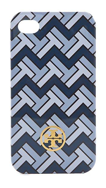 Tory Burch T-Zag Hardshell iPhone 4 Case