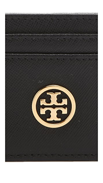 Tory Burch Robinson Slim Card Case