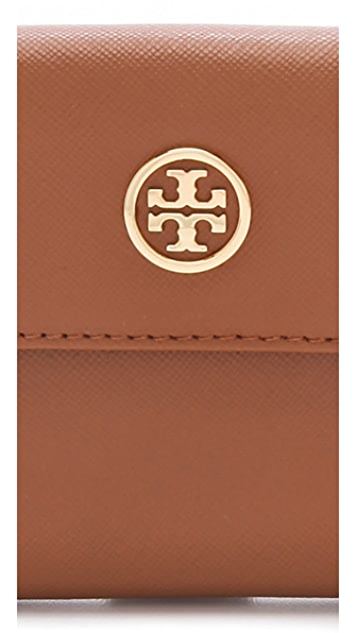 Tory Burch Robinson Double Snap Wallet
