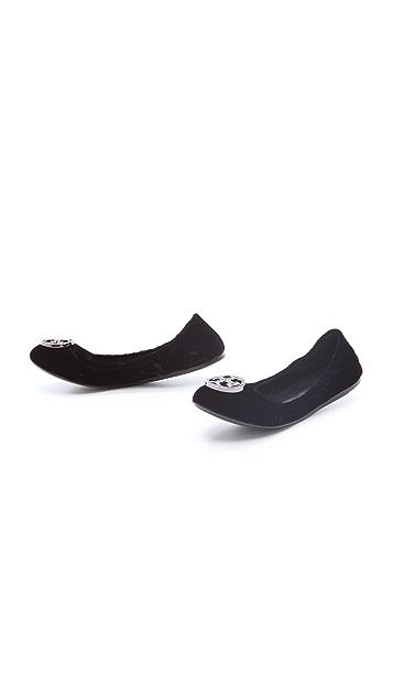 Tory Burch Violet Ballet Flats