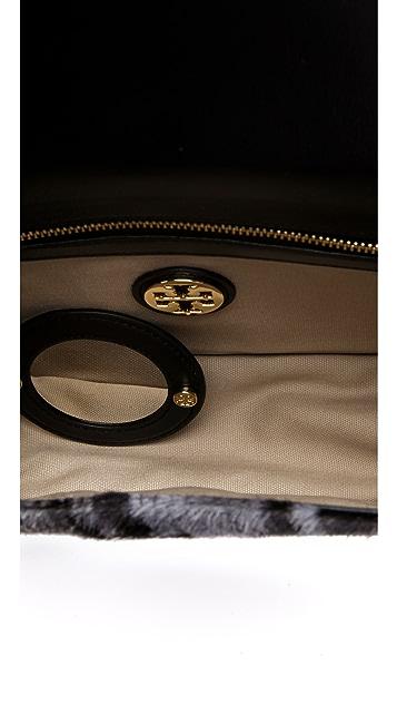 Tory Burch Small Haircalf Frame Bag