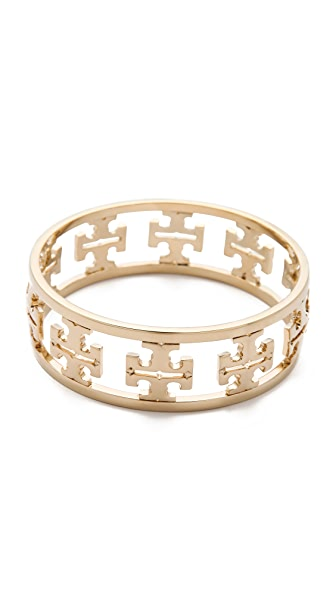 Tory Burch Reverse Cutout Logo Bangle