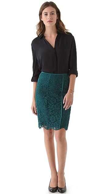 Tory Burch Everett Lace Skirt