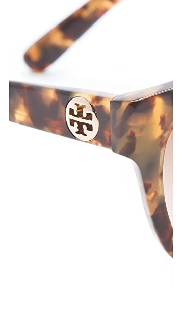 Tory Burch Plastic Square Sunglasses