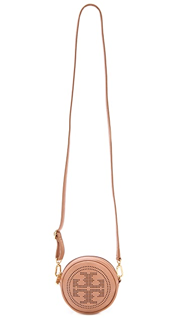 Tory Burch Perforated Logo Cross Body Bag