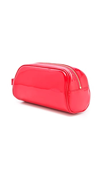 Tory Burch Bow Domed Cosmetic Case
