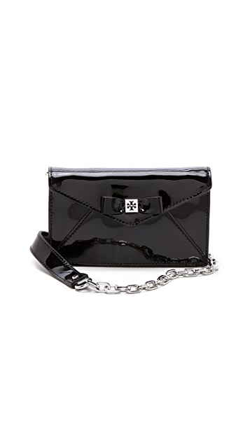 Tory Burch Bow Envelope Cross Body Bag