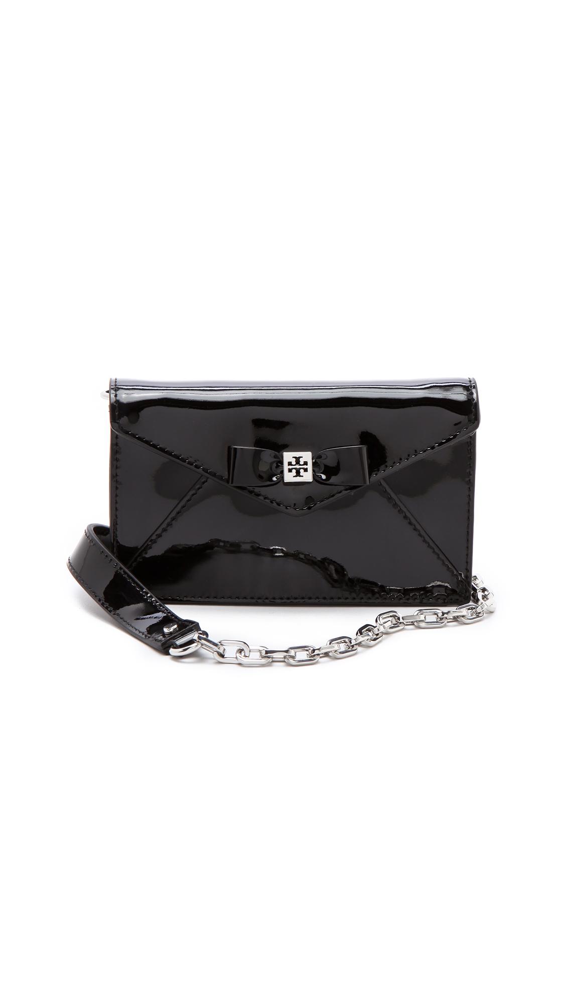 40d3eec01fb Tory Burch Bow Envelope Cross Body Bag