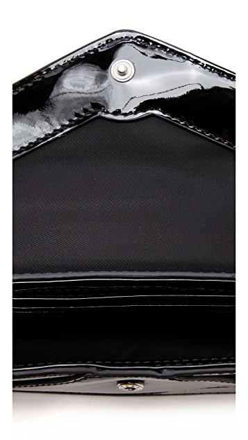 Tory Burch Bow Envelope Cross Body Bag