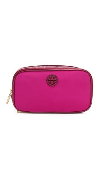 Tory Burch Stacked Logo Twin Cosmetic Case