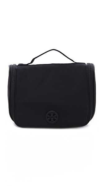 Tory Burch Stacked Logo Wash Bag