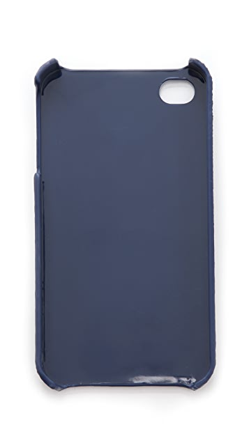 Tory Burch Robinson Saffiano Hardshell iPhone Case