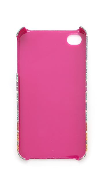 Tory Burch Baja Stripe iPhone Case