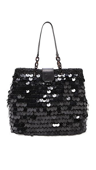 Tory Burch Fache Sequin Large Tote