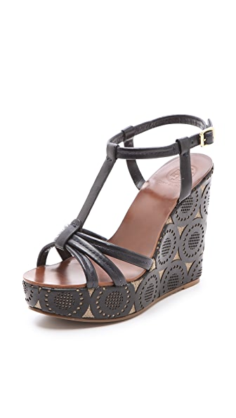 Tory Burch Ida Wedge Sandals