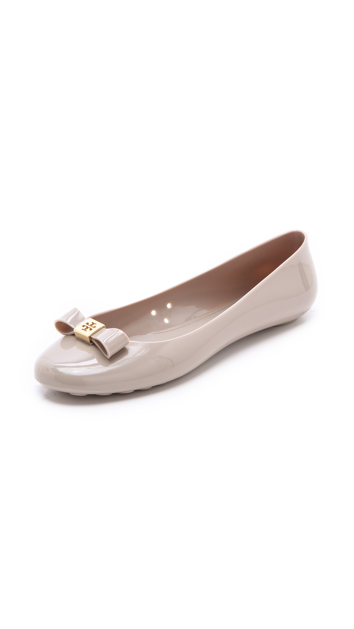 bd08722d2f5bc5 Tory Burch Jelly Bow Ballet Flats
