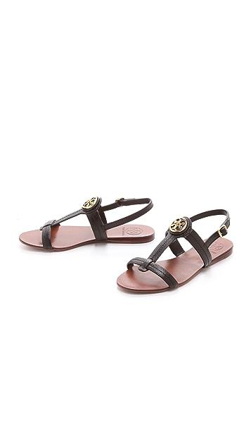 Tory Burch Selma Flat Sandals