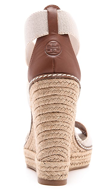 Tory Burch Adonis Wedge Espadrilles