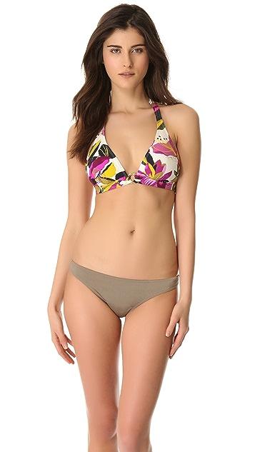 Tory Burch Catarina Halter Bikini Top