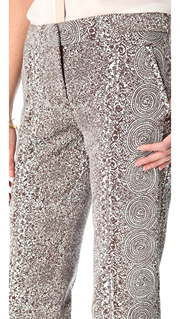 Tory Burch Bilson Printed Pants
