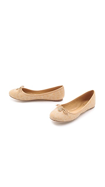 Tory Burch Chelsea Stitched Ballet Flats