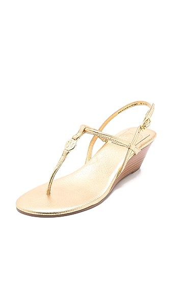 Tory Burch Emmy Demi Wedge Sandals