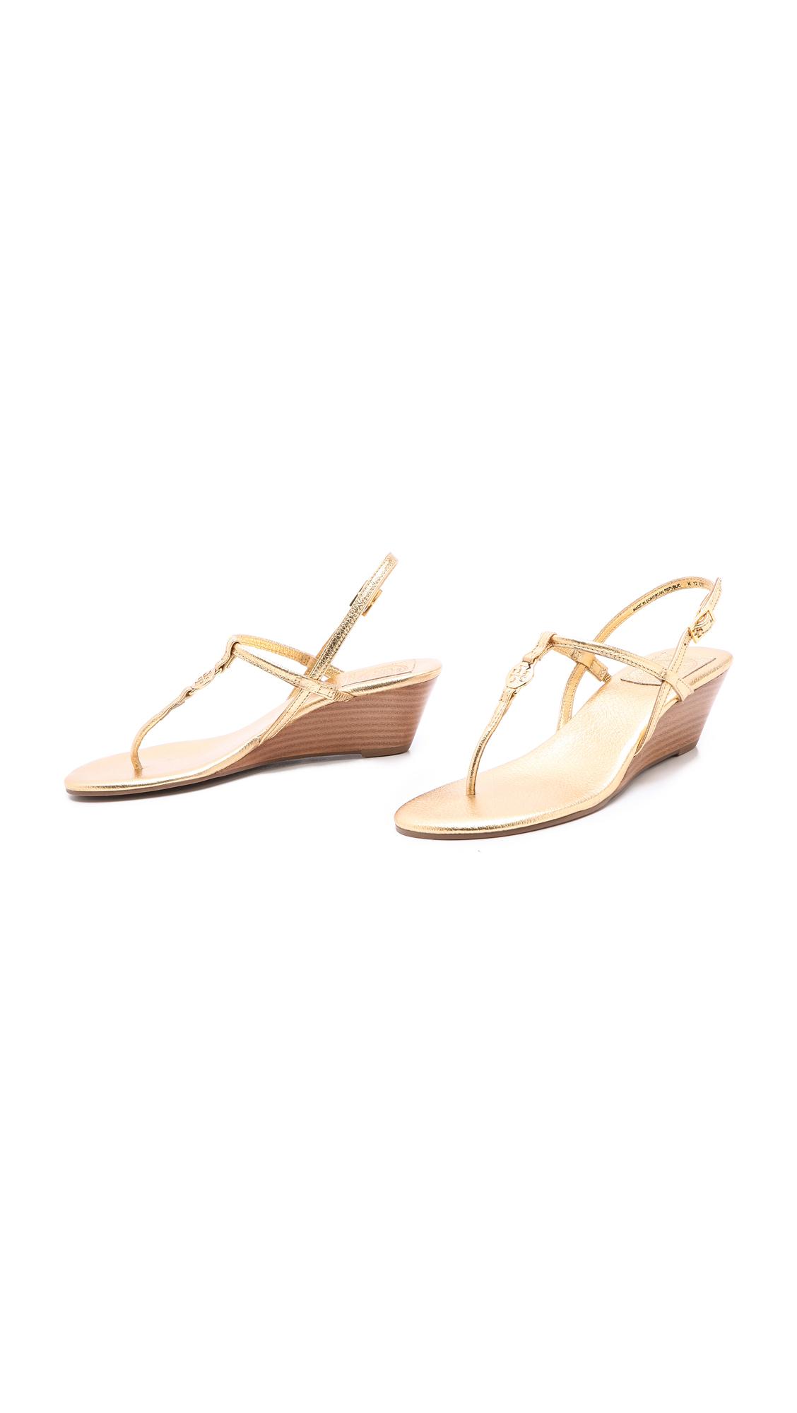 b645fb87e Tory Burch Emmy Demi Wedge Sandals