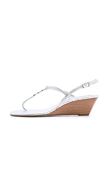 Tory Burch Emmy Demi Wedge Sandals