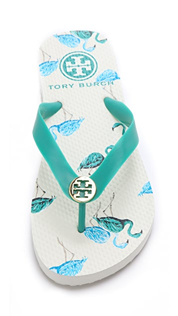 Tory Burch TB Flip Flops