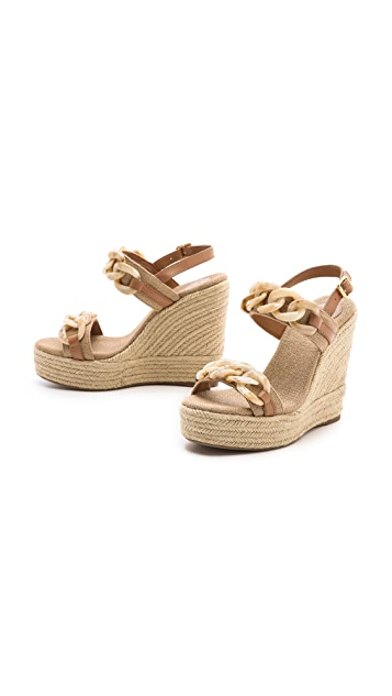 Tory Burch Alta Wedge Sandals