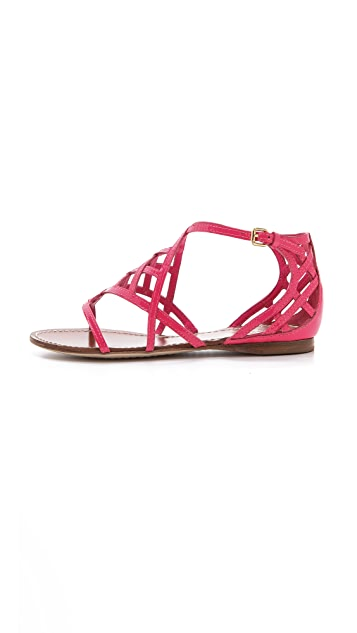 Tory Burch Amalie Flat Sandals