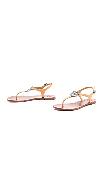 Tory Burch Violet Thong Sandals