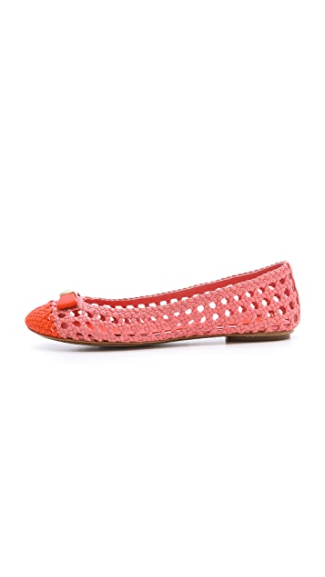 Tory Burch Carlyle Flats