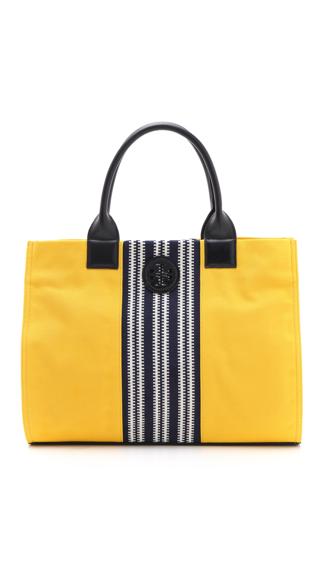 603cb04d138 Tory Burch Center Stripe Ella Tote