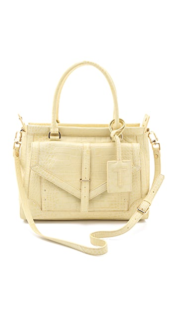 Tory Burch 797 Large Top Zip Satchel
